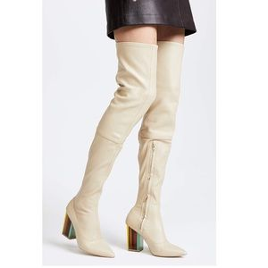 Zimmerman Stretch thigh High Boots - Worn Once!